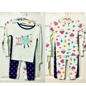 🌸Carter's🌸NWT Lot of 2 Pajama Sets